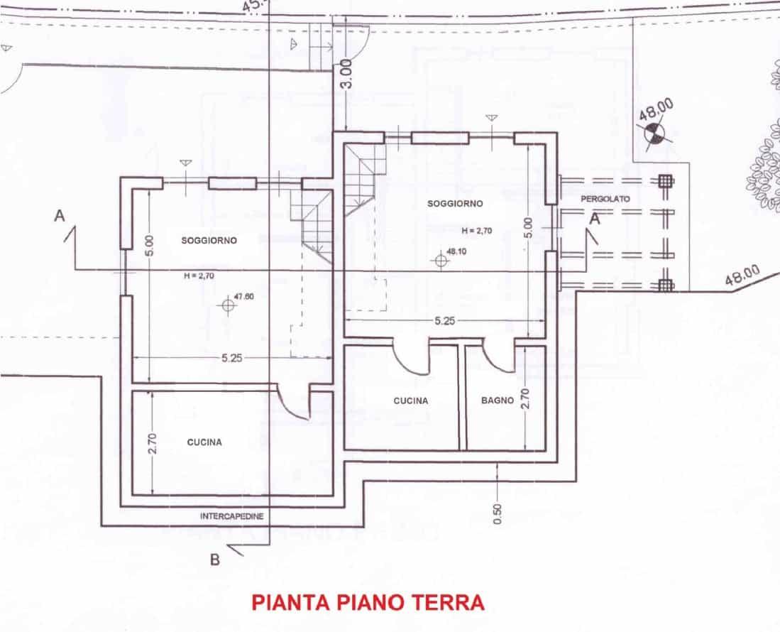 Villa Bifamiliare_PIANO TERRA