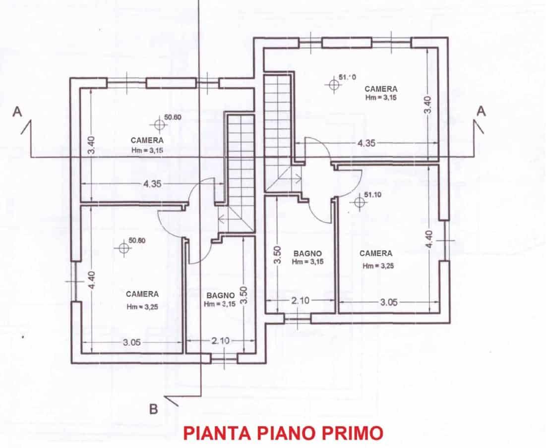 Villa Bifamiliare_PIANO PRIMO