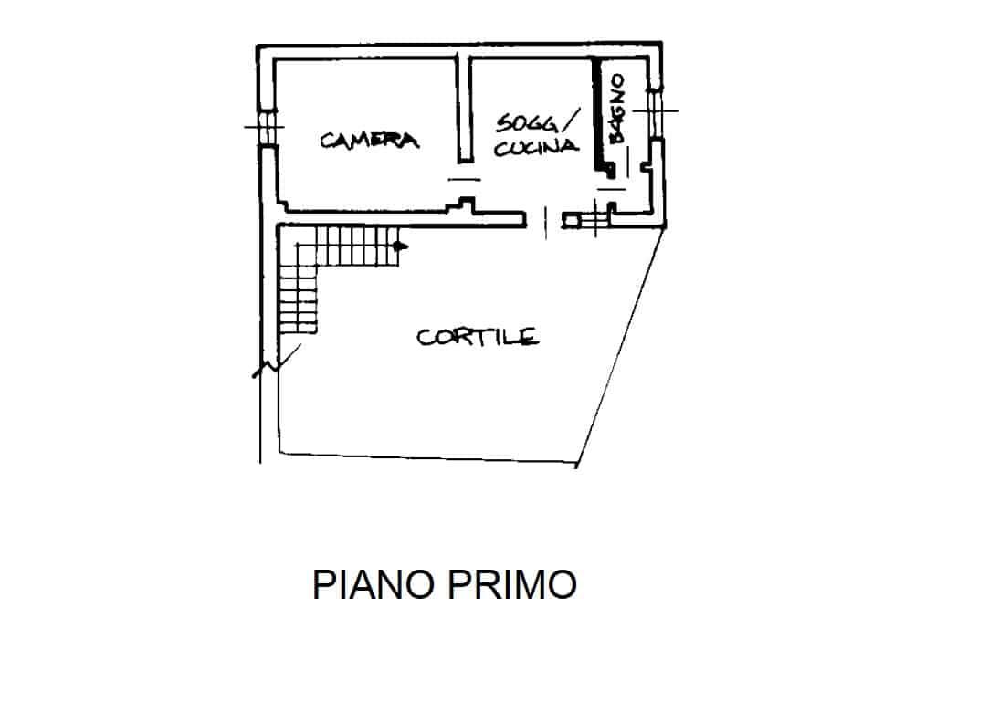 Bilocale Piano Primo